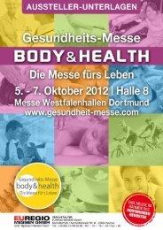 Gesundheits-Messe BODY & HEALTH Dortmund 2012