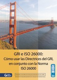 GRI e ISO 26000: - Global Reporting Initiative