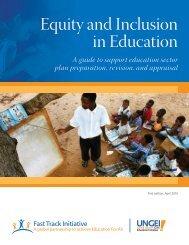 Equity and Inclusion Guide - Global Partnership for Education