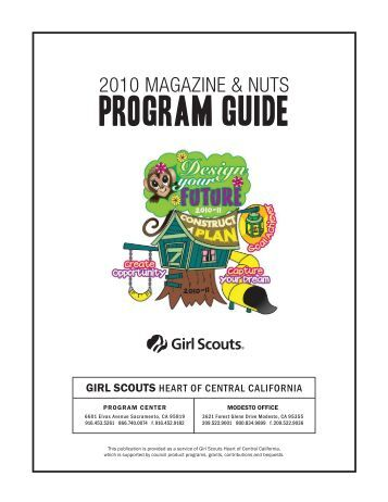 PROGRAM GUIDE - Girl Scouts Heart Of Central California
