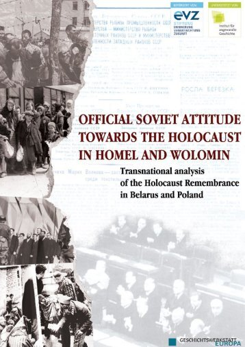 download Official Soviet Attitude towards the Holocaust in Homel ...