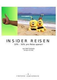 INSIDER –REISEN - Geld verdienen im Internet