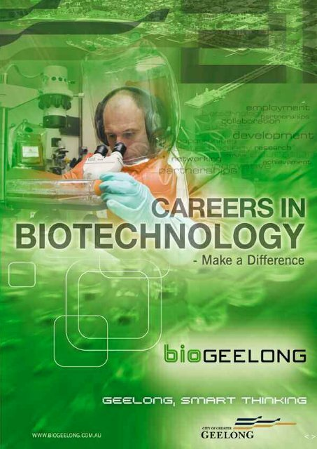Careers in Biotechnology - City of Greater Geelong