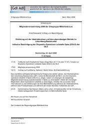 Mitgliederversammlung 2008 der Ortsgruppe Mittelland/Jura ... - gdi