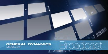 Brochure - General Dynamics Advanced Information Systems
