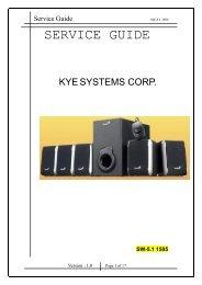 SW-5.1 1505 Service Guide .pdf - Genius