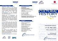 Programm der Tagung - Historisches Seminar - Johannes ...