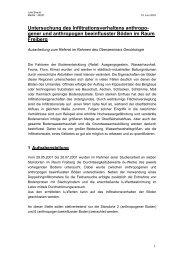 Untersuchung des Infiltrationsverhaltens anthropo- gener und ...