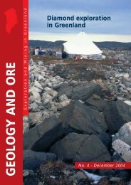 Geology and Ore no. 4, december 2004 - GEUS