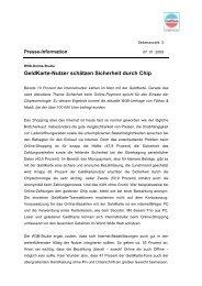 W3B-Online-Studie - GeldKarte