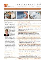 Patientenbrief Februar 2008 (PDF 1,8MB) - GlaxoSmithKline