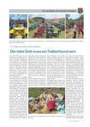 Wir im Frankenwald 20/2013 - Teil 2 - Gemeinde Geroldsgrün