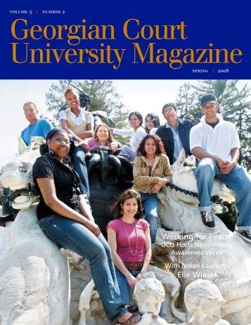 4514-GCU Spring Magazine.qxp - Georgian Court University