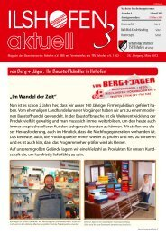 Ausgabe 3/2013 - Gewerbeverein-ilshofen.de