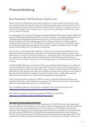 Neue Projektliste: Tiefe Geothermie schreitet voran