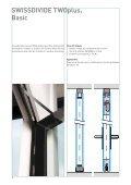 SWISSDIVIDE TWOplus - Glas Trösch AG - Page 3