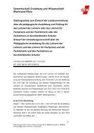 2013_04_18 LVO Ausbildung Fachlehrer.pdf - GEW