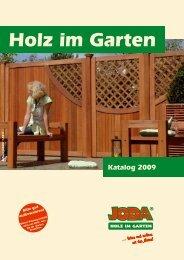 Holz im Garten - Gartenmöbel von GIARDINO