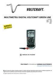 multimetru digital voltcraft green line - German Electronics