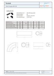 Technik Cobra Isopipe DN125-180 - GLT Austria
