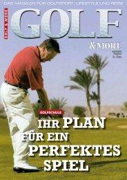 Ihr Plan für eIn - Golf and More TV