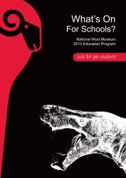 NWM 2013 Education Brochure (PDF - 1.6MB) - City of Greater ...