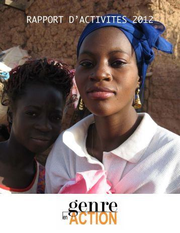 RAPPORT D'ACTIVITES 2012 - tanmia
