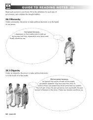 CH 26: Teacher Notes