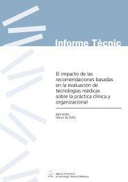 El impacto de las recomendaciones basadas en la evaluación de ...