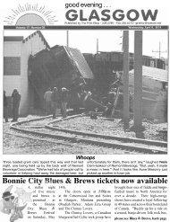 Bonnie City Blues & Brews tickets now available - Glasgow Montana