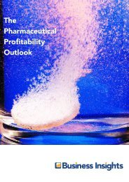 The Pharmaceutical Profitability Outlook - Business Insights