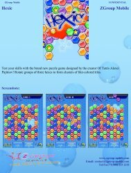 Hexic ZGroup Mobile - Get Mobile game