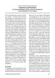 Induktion und Wahrheit. Zu Thomas Rießingers Kritik meiner ...