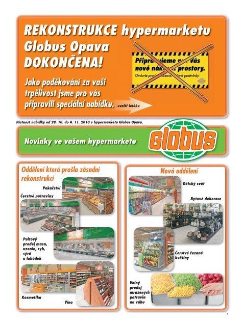 REKONSTRUKCE hypermarketu Globus Opava DOKONČENA!