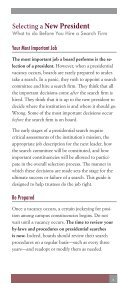 Selecting a president - The American Council of Trustees and Alumni - Page 3
