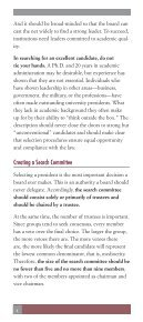 Selecting a president - The American Council of Trustees and Alumni - Page 6