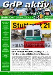 Stuttgart 21 - GdP Mannheim