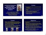 EMG Evidence to Apply to Shoulder Rehabilitation Exercise Design