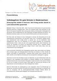 Volksbegehren für gute Schulen in Niedersachsen - GEW ...