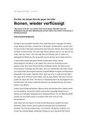 Stefan Reinecke (TAZ,17.02.2011) - Gerd Koenen