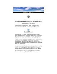 June 2001 PDF - 2 pages - 40 K - Global Sustainable Electricity ...