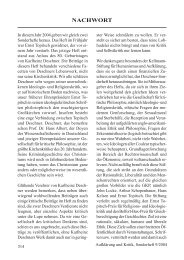 Georg Batz: Nachwort - Gesellschaft für kritische Philosophie