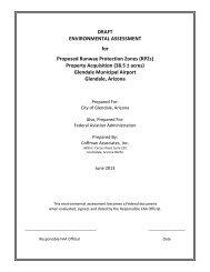 DRAFT ENVIRONMENTAL ASSESSMENT for ... - City of Glendale