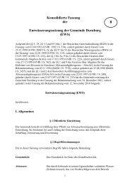 Entwässerungssatzung der Gemeinde Dornburg ( EWS )