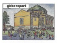 Glebe Report - Volume 34 Number 8 - September 17 2004