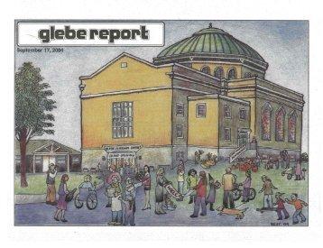 Glebe Report - Volume 34 Number 8 - September 17 2004