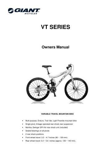 installation 4 download t rh yumpu com giant bicycle owner's manual version 11.0 Roadmaster Bicycle Manual Repair Manuals