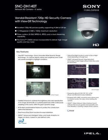 SNC-DH140T - goCCTV