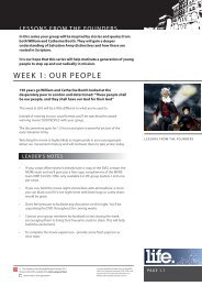 LIFE: Lessons from the Founders.pdf - Salvation Army