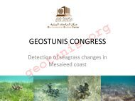 GEOSTUNIS CONGRESS